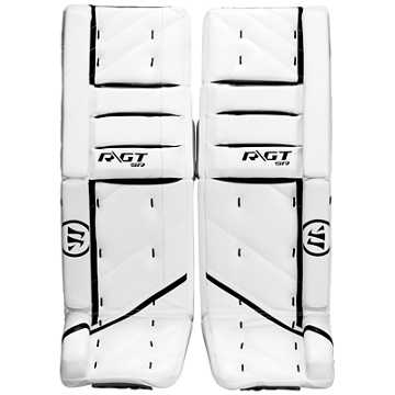 Ritual GT SR Leg Pads, White with Black
