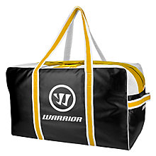 Warrior Pro Bag, Black with Gold & White