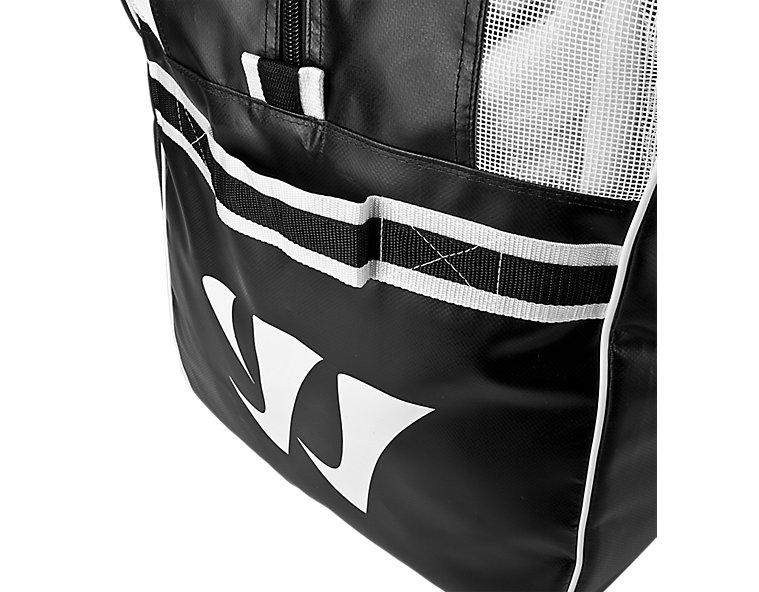Warrior Pro Bag, Black with White