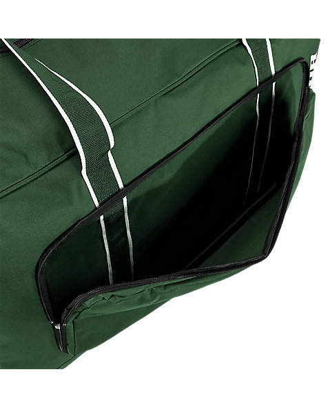 Team Duffel Bag Large, Forest Green with White