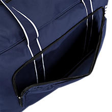 Team Duffel Bag Large, Navy with White