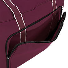 Team Duffel Bag Medium, Maroon with White