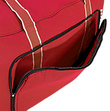 Team Duffel Bag Medium, Red with White