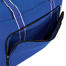 Team Duffel Bag Medium, Royal Blue with White