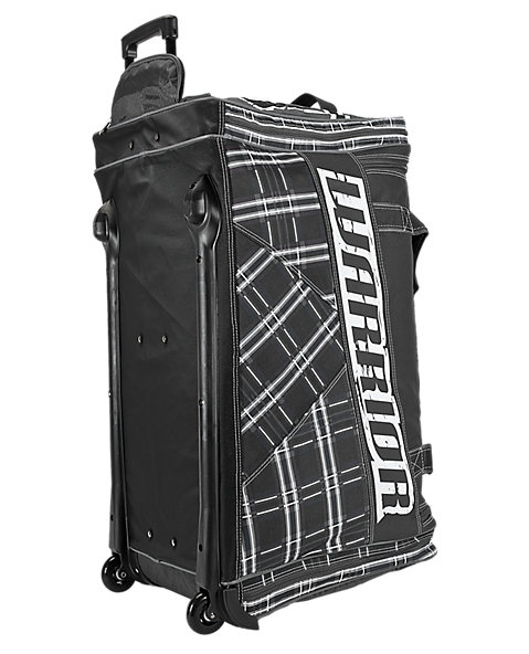Vandal Roller Bag Junior, Black with White & Grey