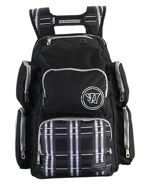 Vandal Skool Pak Bag, Black with White