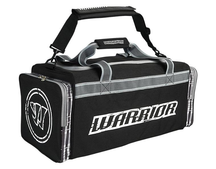 Vandal Travel Bag, Black with White