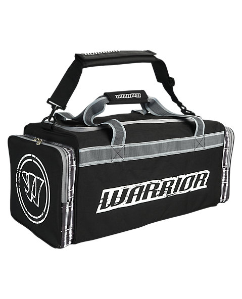 Vandal Travel Bag, Black with White