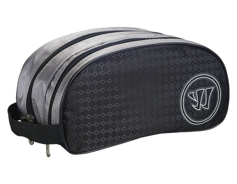 Vandal Douche Shower Bag, Black with White
