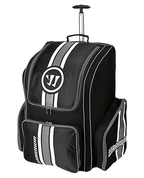 Covert Roller Backpack, Black with White & Grey