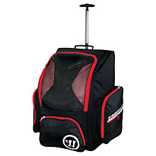Covert QR Roller Backpack, Black with Red & White