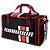 Covert Carry Bag, Black with Red & White