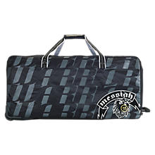 Messiah Goalie Wheel Bag, Navy with White