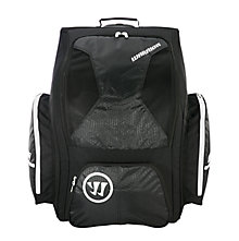 Covert Roller Backpack , Black with White