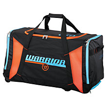 Covert QR Roller Bag, Black with Blue & Orange
