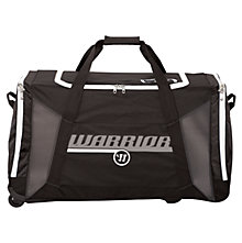 Covert QR Roller Bag, Black with White & Silver