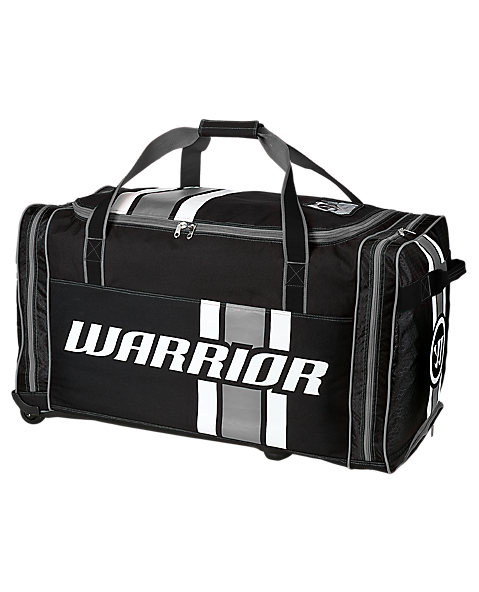 Covert Junior Roller Bag, Black with White & Grey