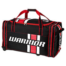 Covert Junior Roller Bag, Black with Red & White