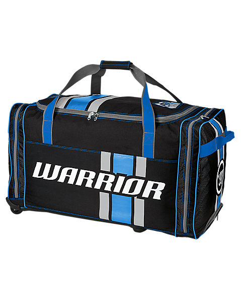 Covert Senior Roller Bag, Black with Blue & Silver