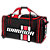 Covert Senior Roller Bag, Black with Red & White