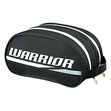Shower Bag, Black with White