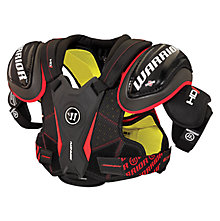 Dynasty HD1 Shoulder Pad Sr. , Black with Red & White