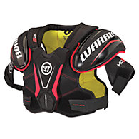 Dynasty HD3 Shoulder Pads, Black with Red & Yellow
