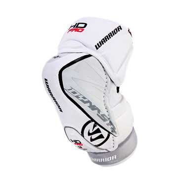 Dynasty HD Pro Elbow Pads Int., White with Black & Red
