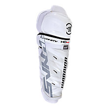 Dynasty HD Pro Shin Guards Int. , White with Black