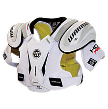 Dynasty HD Pro Shoulder Pads Sr. , White with Black & Red