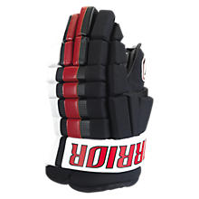 Franchise Glove, Black with Red & White