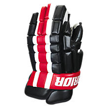 Bonafide Glove, Black with Red & White