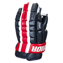 Bonafide Glove, Navy with Red & White