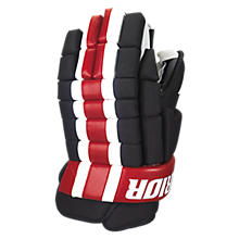 Bully Glove, Black with Red & White