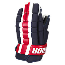Bully Glove, Navy with Red & White
