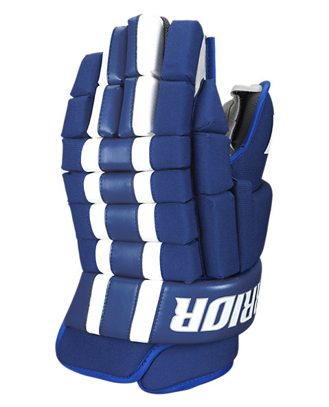 Bully Glove, Royal Blue with White