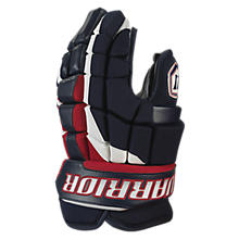 Luxe Glove, Navy with Red & White