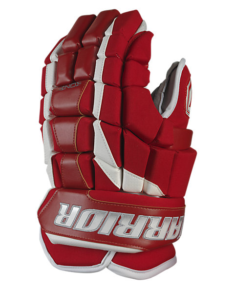 Luxe Glove, Red with White