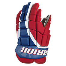 Surge Glove, Red with Royal Blue & White