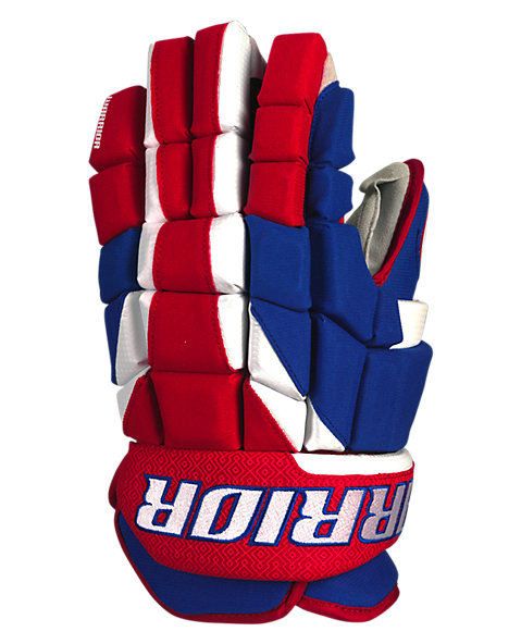 Surge Limited Edition Glove, Royal Blue with Red & White