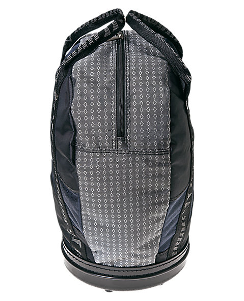Rock Sack Puck Bag, Black with Navy & Grey