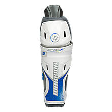 Projekt Shin Guard, Black with Blue & Silver
