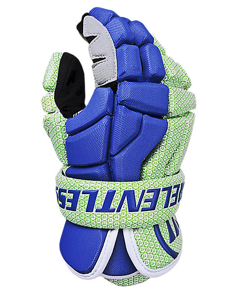 Hundy Relentless 27 Headstrong Edition Hundy, Neon Green with Royal Blue