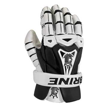 King V Glove , Black with White