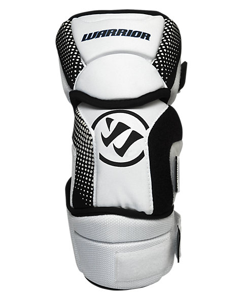 Koncept Elbow Pad, White with Black