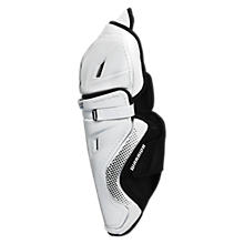 Koncept Shin Guard, White with Black
