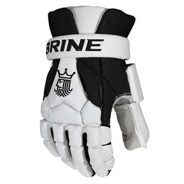 King Superlight III Goalie Glove, Black with White
