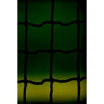 10' X 30' BACKSTOP NET BLACK, Black