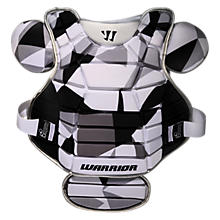 Lockdown Chest Pad, Black with White & Grey