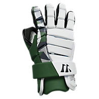 Lockdown Goalie Glove, Forest Green with White